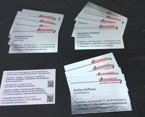 moll-real-werbeberatung-Werbeagentur-Oberhausen-Visitenkarten-Metalloptik